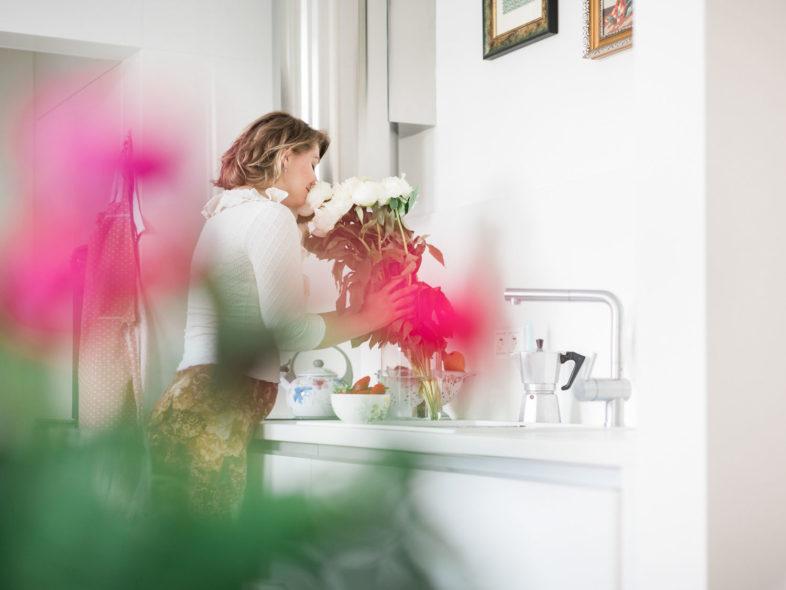 Rande, romantika, priroda, piknik, kvety